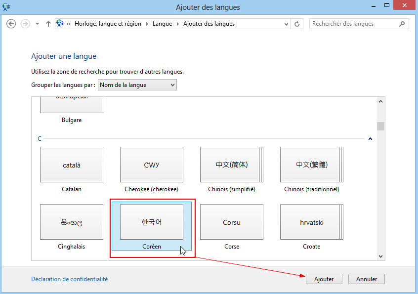 How to type Korean on Windows 8 - Step 4