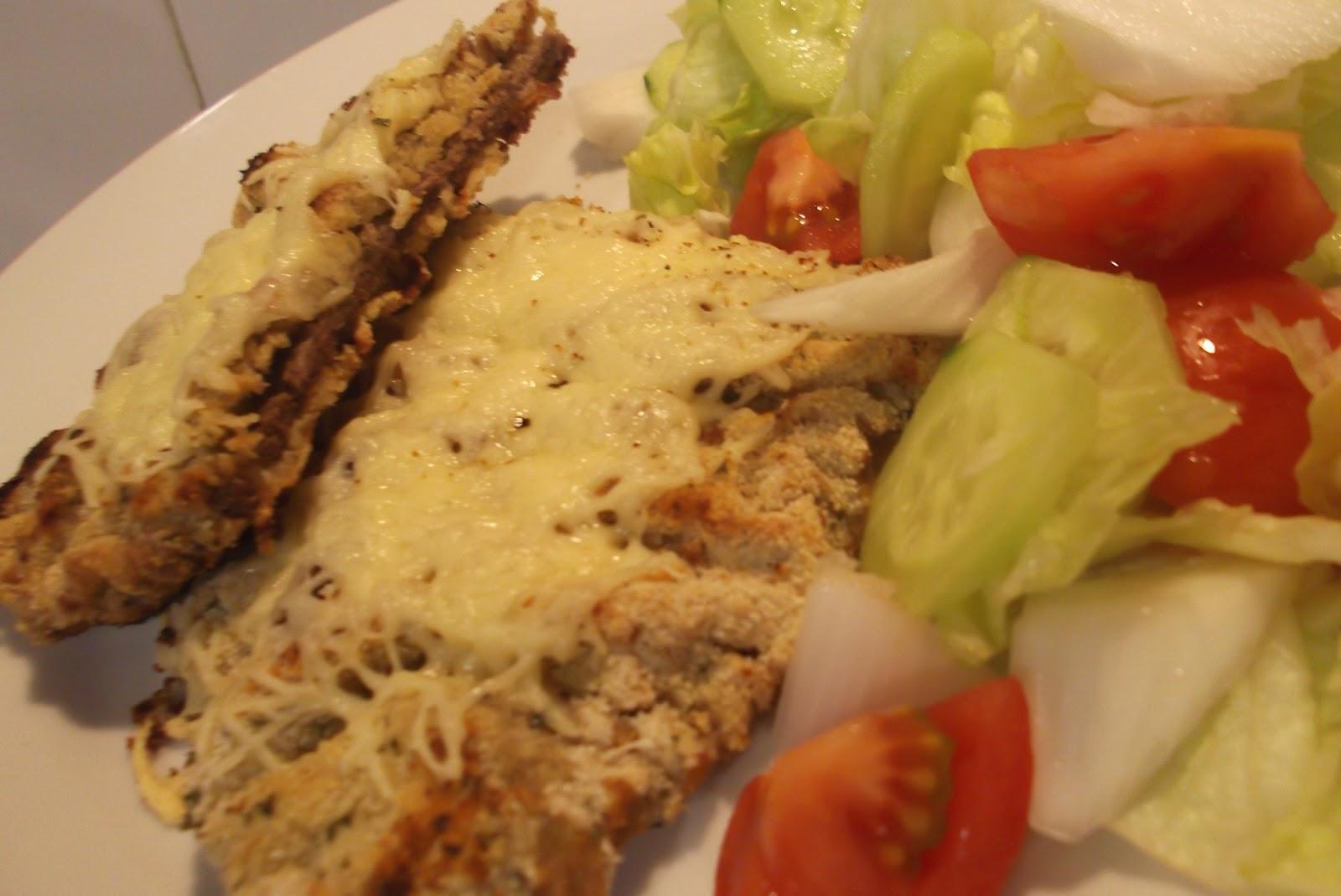 Cocinar y hablar de todo filete de ternera rebozada al horno for Cocinar filetes de ternera
