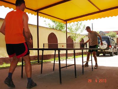 ping-pong la Craiova Sport Meet
