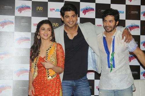 Humpty Sharma Ki Dulhania Movie Trailer Launch Photos and Stills