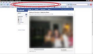 how to open locked pictures on facebook
