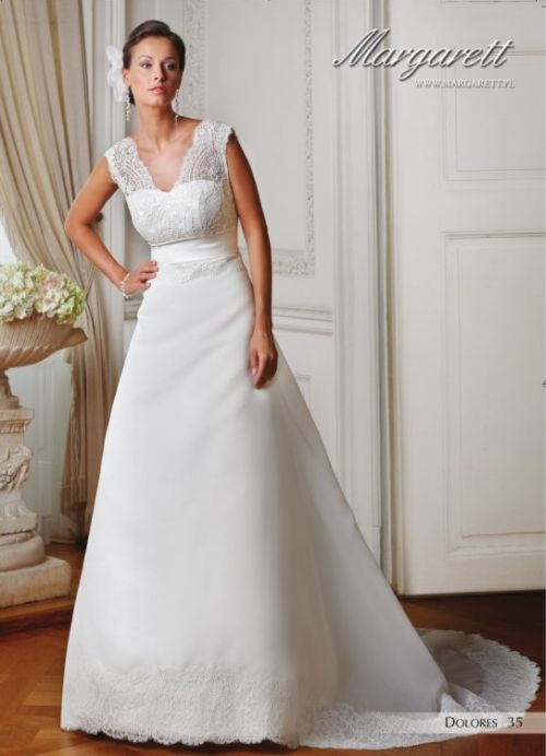 Suknie ślubne Vestido Suknia ślubna Margarett Model Dolores O