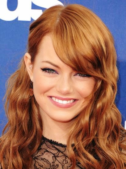 emma stone natural hair color