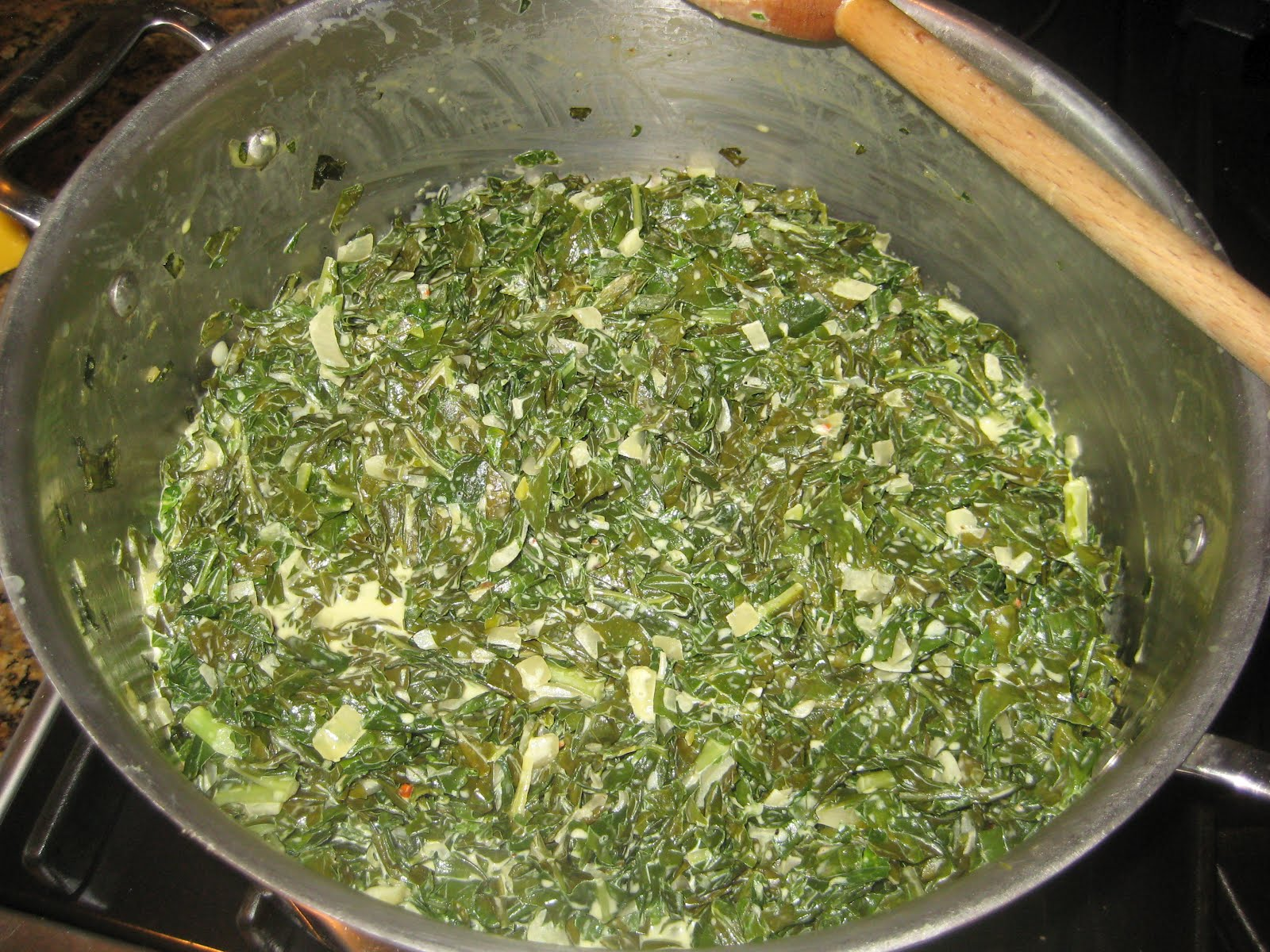 ... Delicious Truth: How to Make Creamed Spinach, Using Rutabaga Greens
