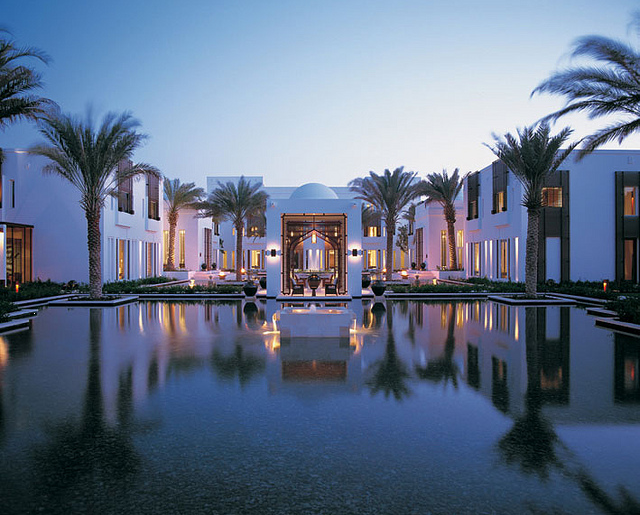 Oman coast notes on hotels in muscat for Designhotel oman