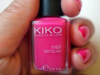 Esmalte rosa Kiko