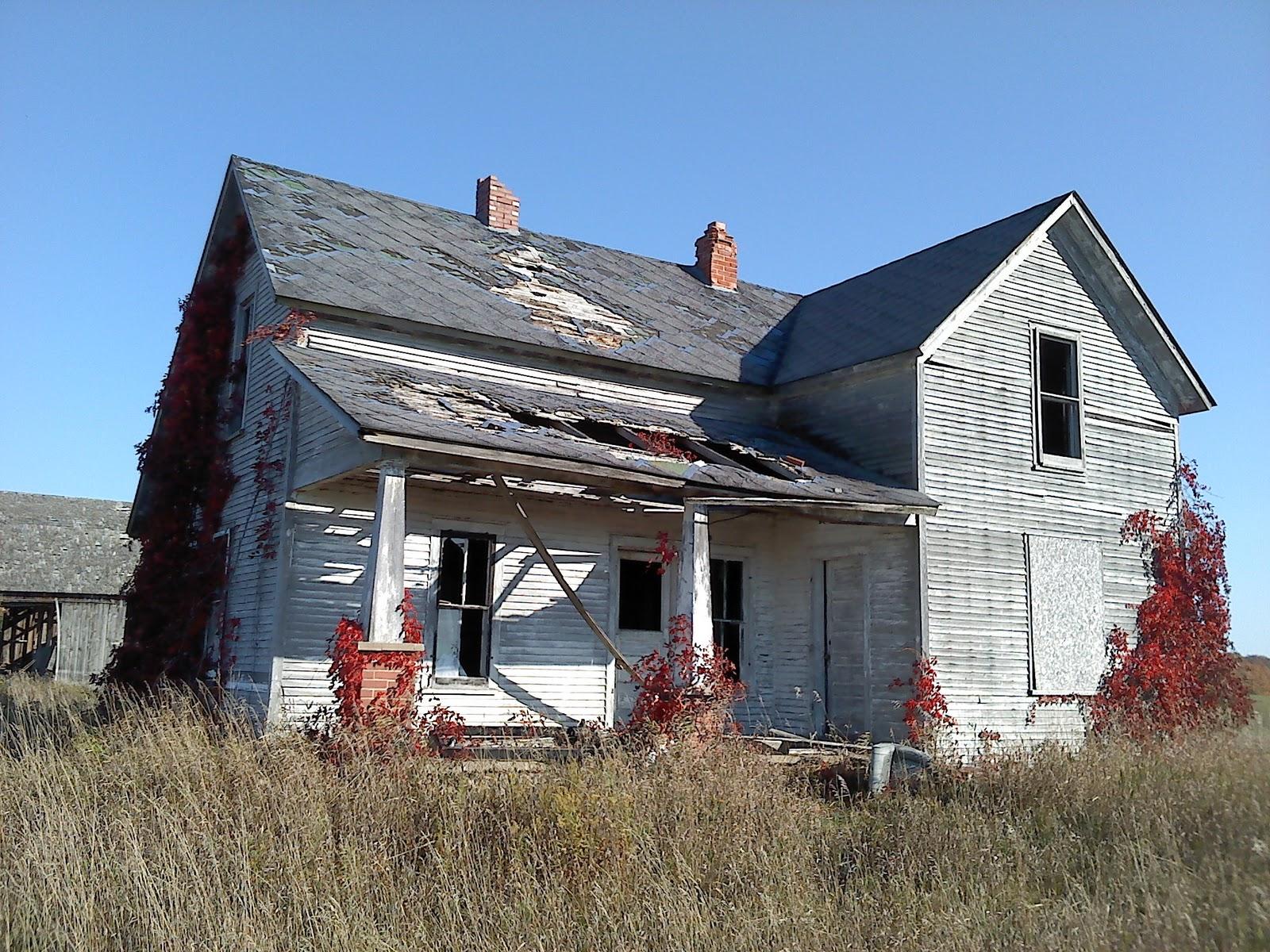 Fall, Old Abandon Farm Houses, Petoskey, Steve Jobs And My Birthday