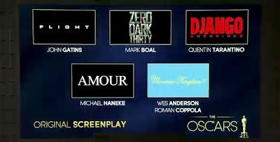 Oscar Rehberi 2013: Özgün Senaryo & Uyarlama Senaryo