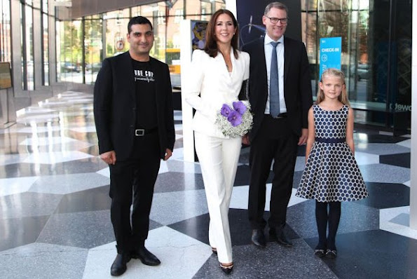 "Crown Princess Mary of Denmark attends the ceremony of the ""University Startup World Cup 2015 Prize"