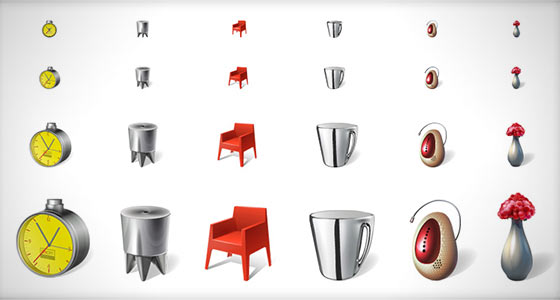 Free Philippe Starck Icons Sets