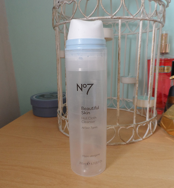 No7 Beautiful Skin Hot Cloth Cleanser