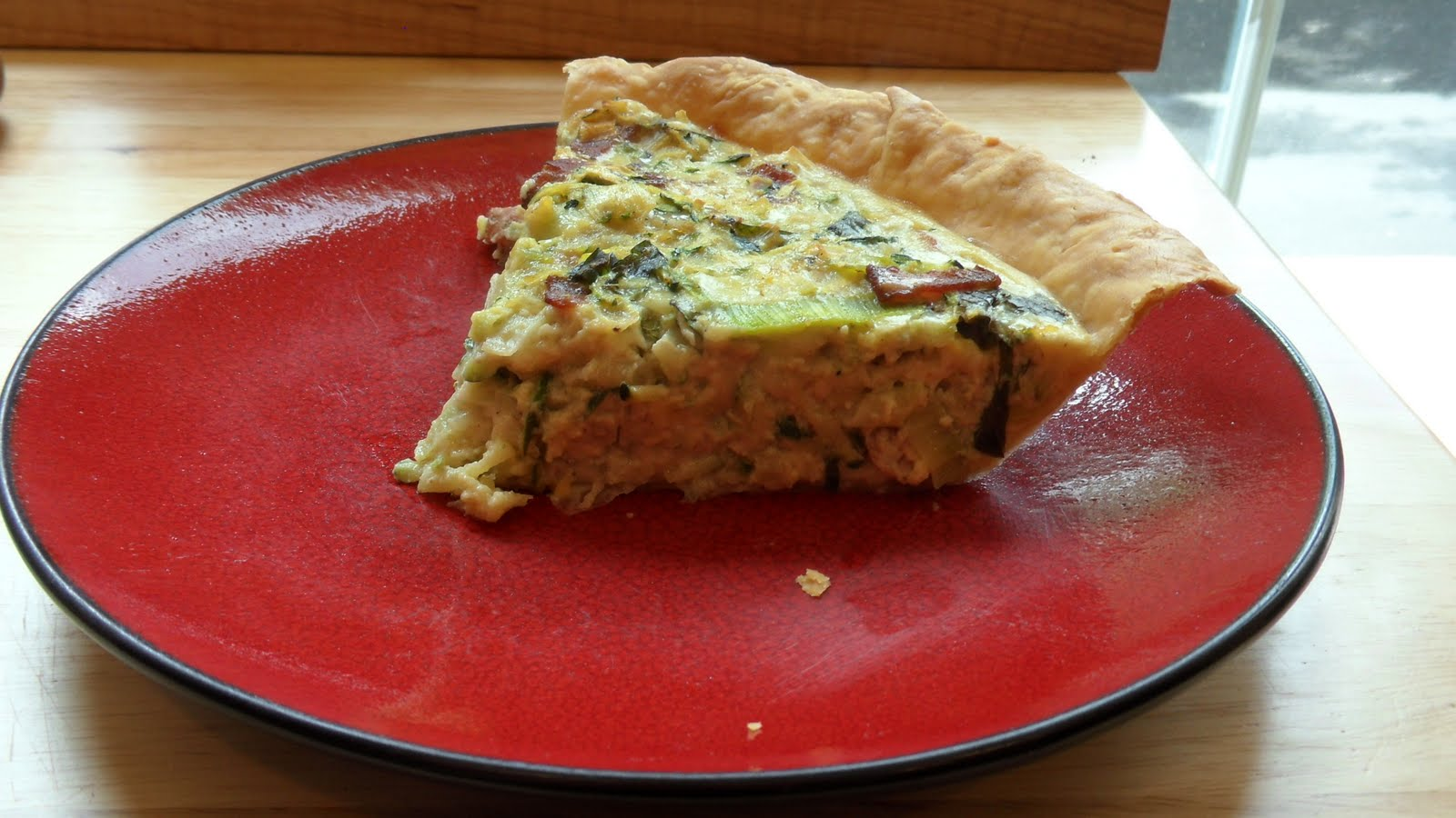 Bacon, Zucchini, and Leek Quiche « Well Dined
