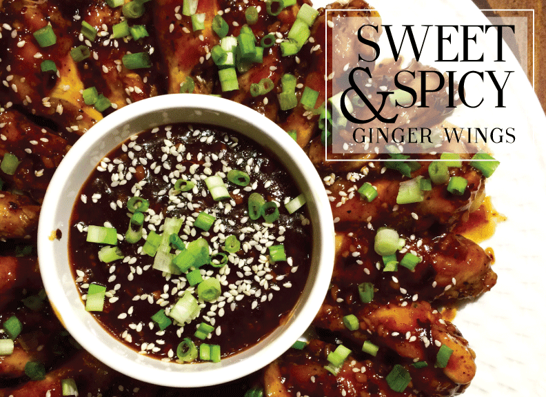 Just A Darling Life: Sweet and Spicy Ginger Wings