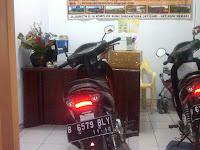 Motor Honda supra Pontianak-Jakarta