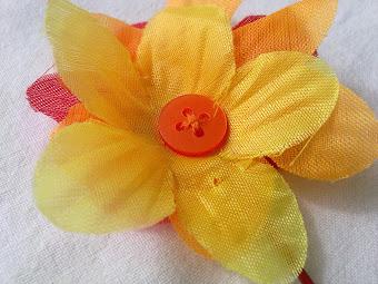 amarillo en flor