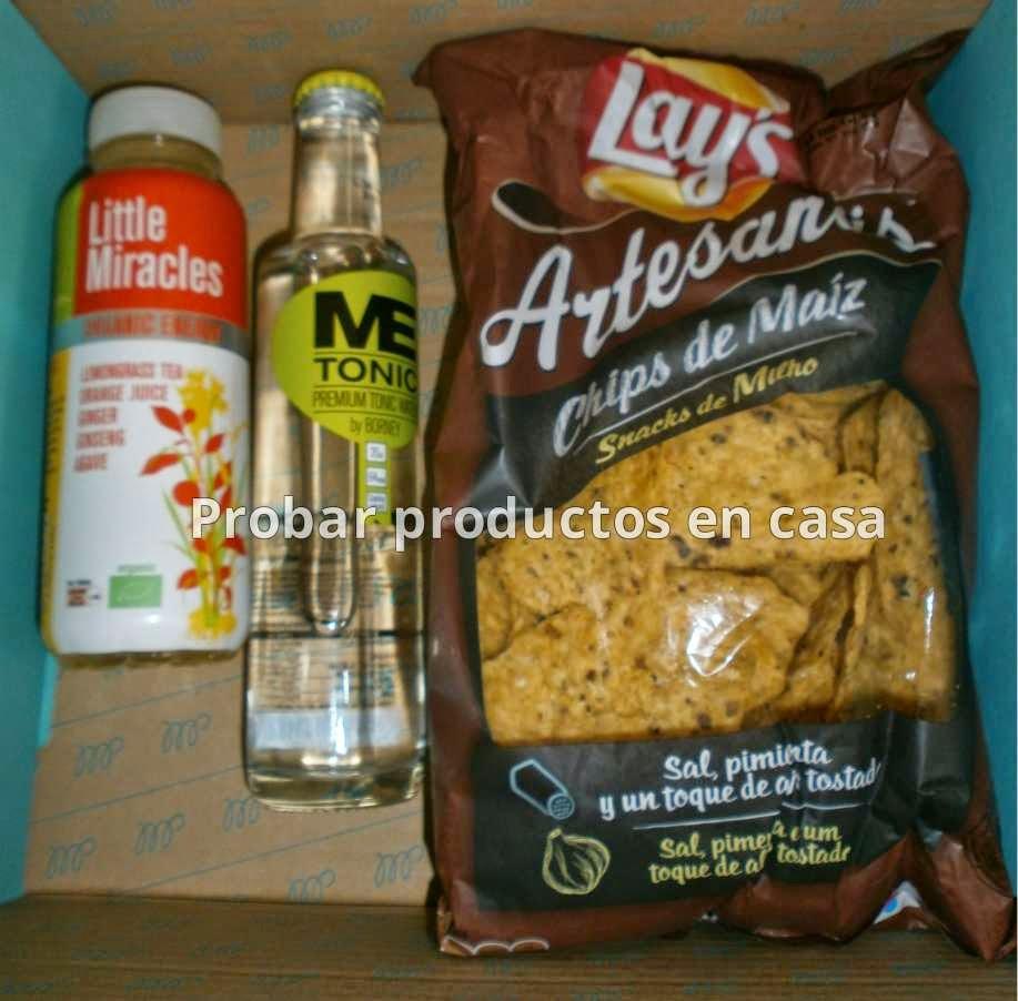 Muestras Premium: Artesanas Lays, MeTonic, little Miracles
