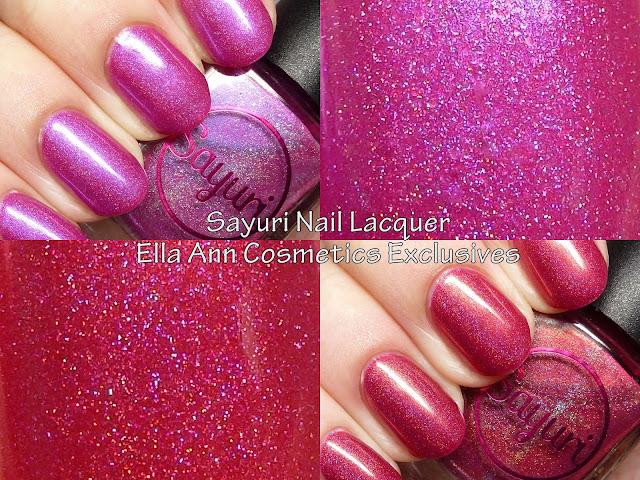 Sayuri Nail Lacquer Ella Ann Cosmetics exclusives