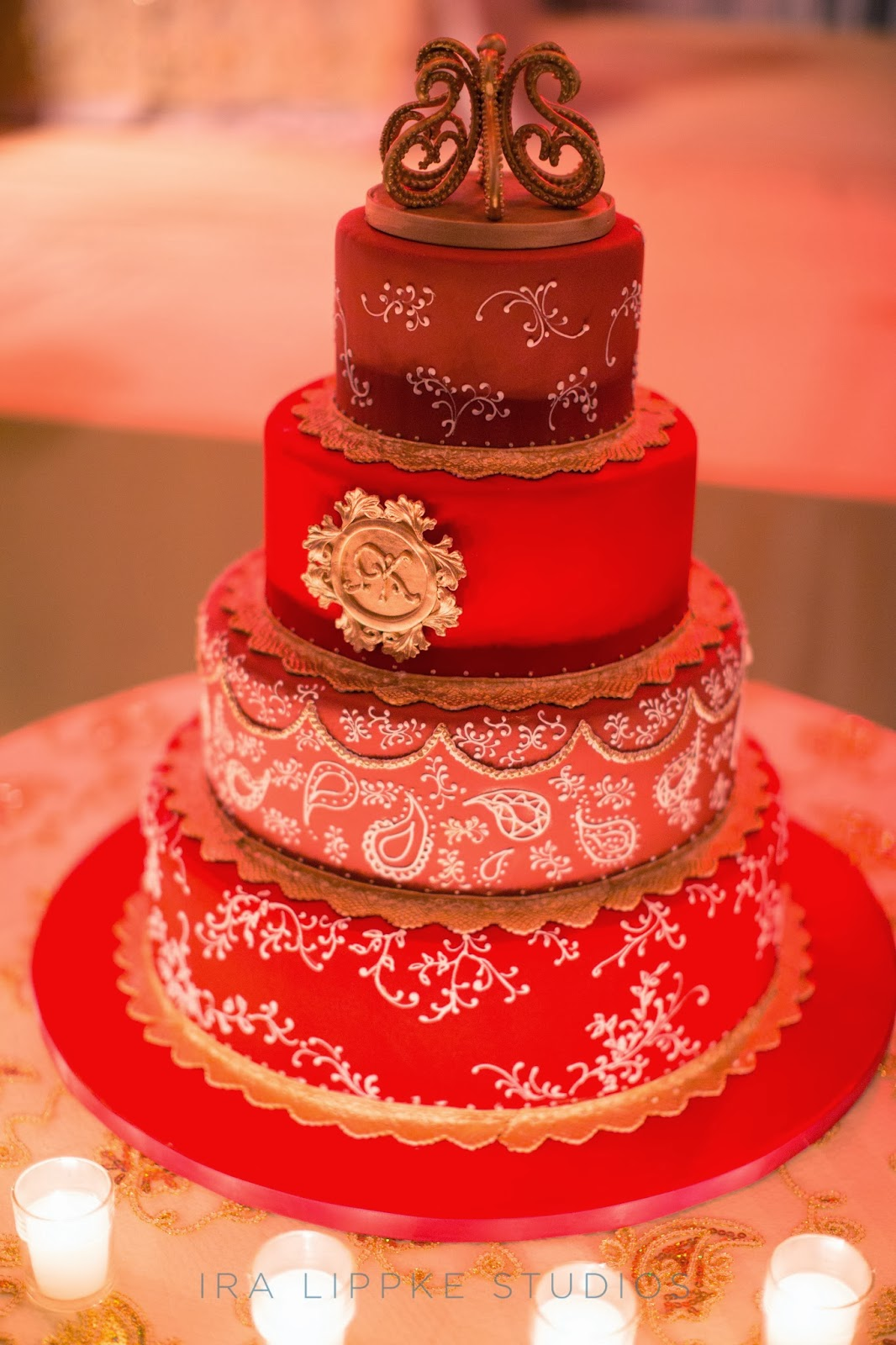 For the Love of Cake! by Garry & Ana Parzych: Indian Wedding Cake ...