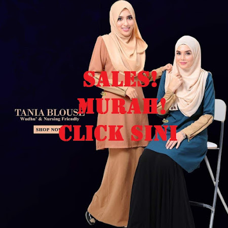 Ready To Post. Blouse Tania Nursing friendly . Hurry Up Stock sangat LIMITED