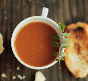 tomato soup with curry leaves recipe