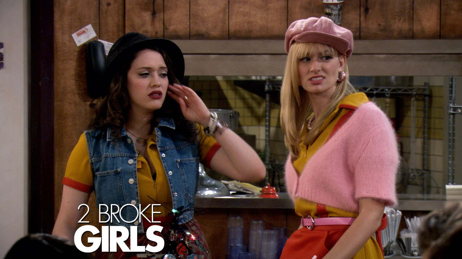 Repose: 2 Broke Girls Drinking Game!!