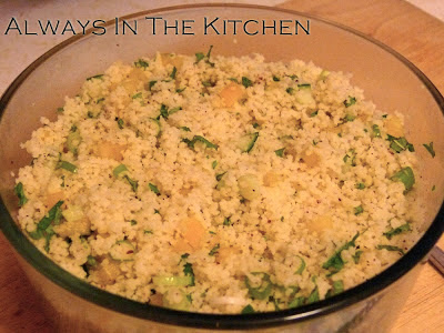 Couscous with Lemon & Mint