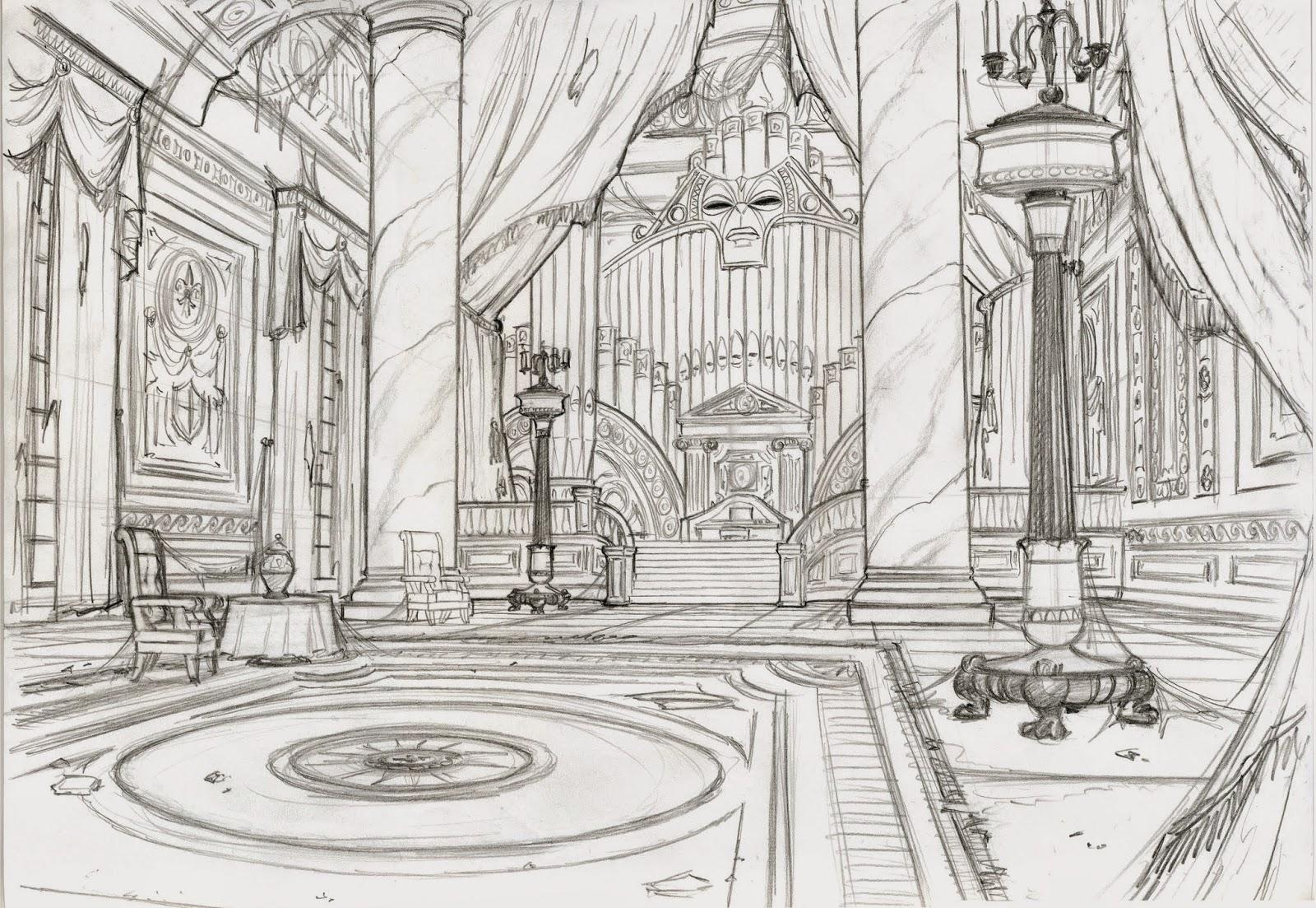 La Belle et la Bête 2 : Le Noël Enchanté [DisneyToon - 1997] Beauty%26TheBeast_InteriorForte'sRoom-2