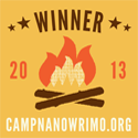 Camp NaNoWriMo April 2013 Winner