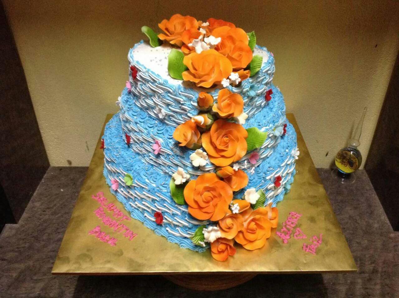 ☕ WEDDING CAKE