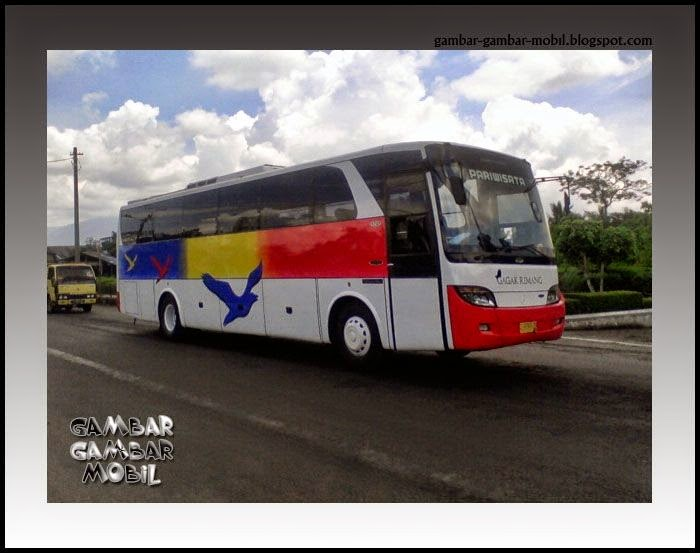 foto mobil bus budiman
