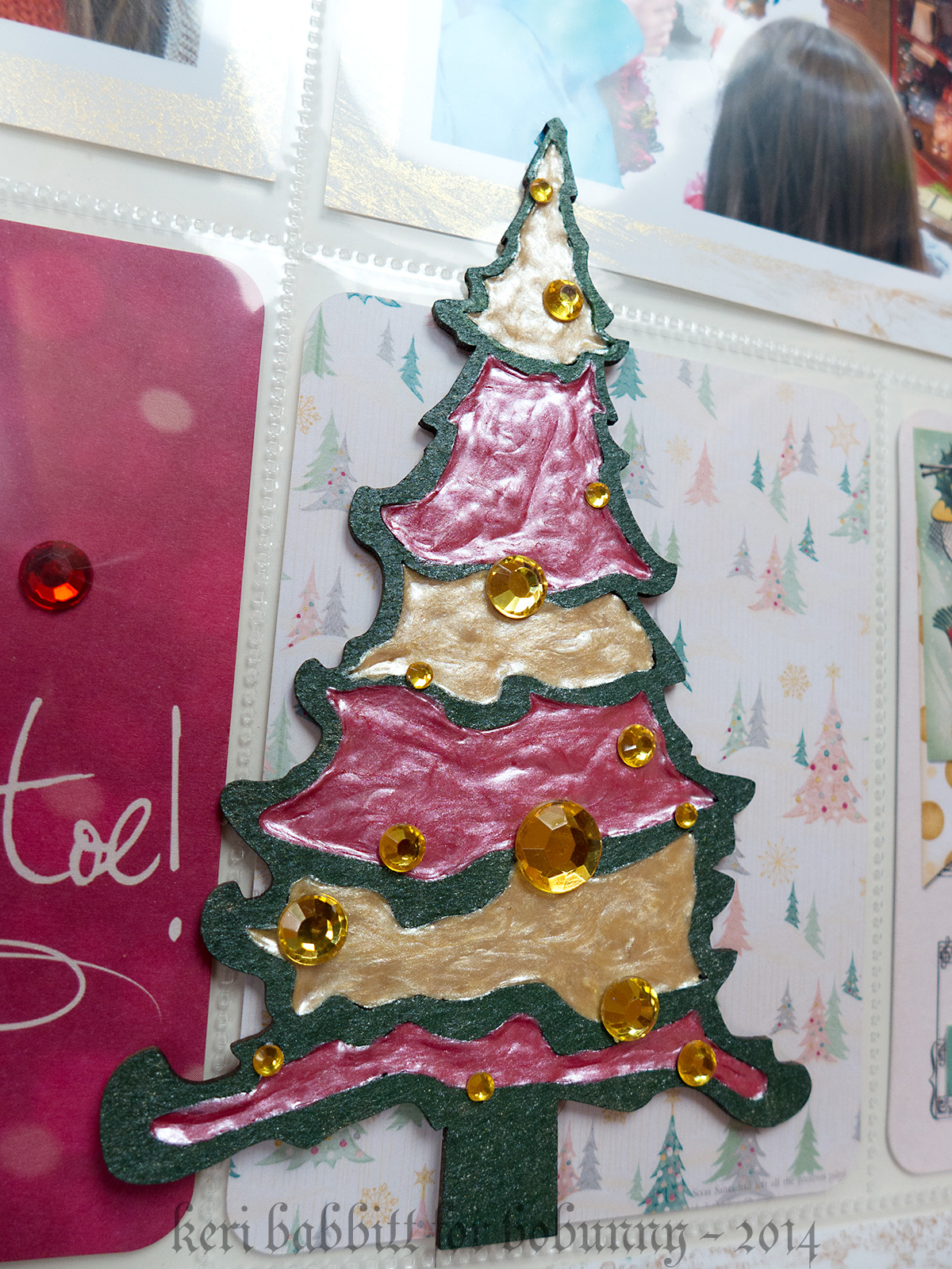 Christmas Greetings Misc Me by Keri Babbitt using Leaky Shed