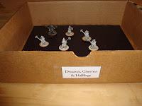 Finished miniature storage box