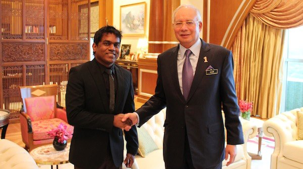 Yuvan Shankar Raja Meets Malaysian Prime Minister