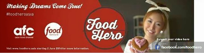 Food Hero on AFC and Food Network