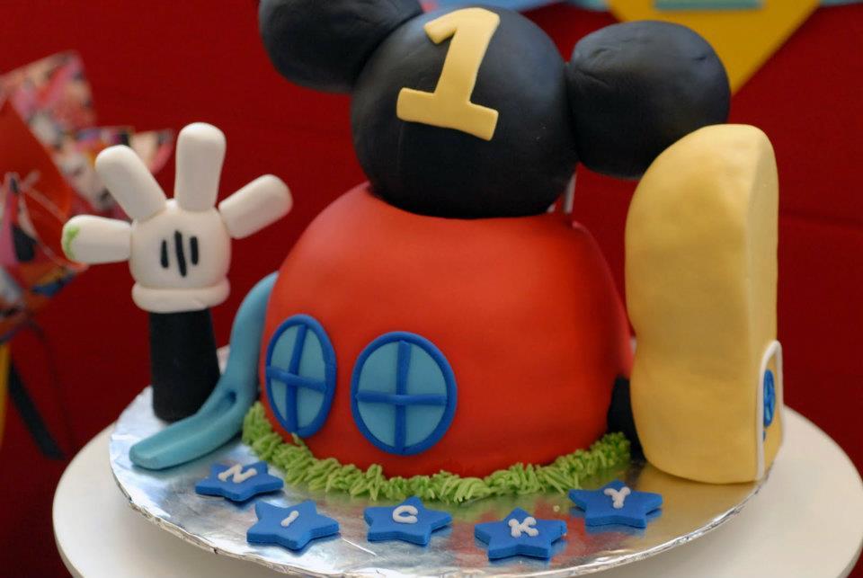 Cambar Pasteleria Fina: El Magico cumpleaños de Mickey Mouse