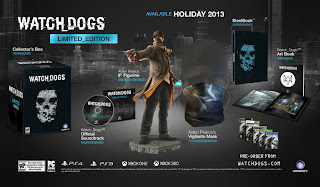 watch dogs limited edition North America   Watch Dogs (Multi Platform)   Limited Edition Image & Contents