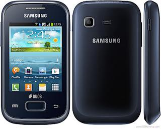 Gambar Samsung Galaxy Y Plus S5303 Blue