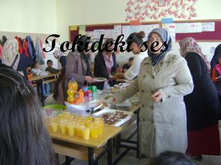 Öğretmenler günü kutlaması ve kombini