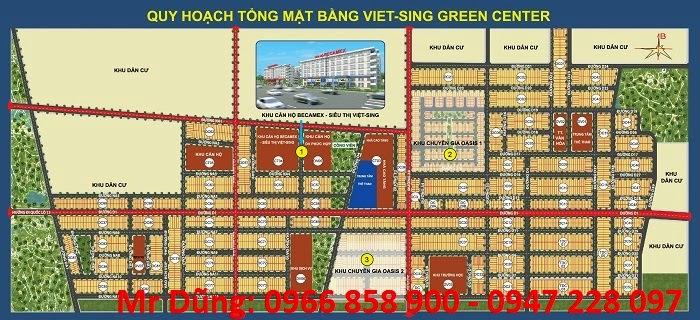 Bán đất nền dự án tại Khu đô thị Việt - Sing The Oasis ảnh 1