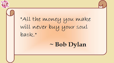 money and soul quote to make you think