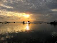Gorgeous Sunset at Concho de Perla, Isabela Island, Galapagos