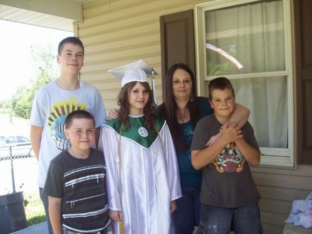 Meg's graduation