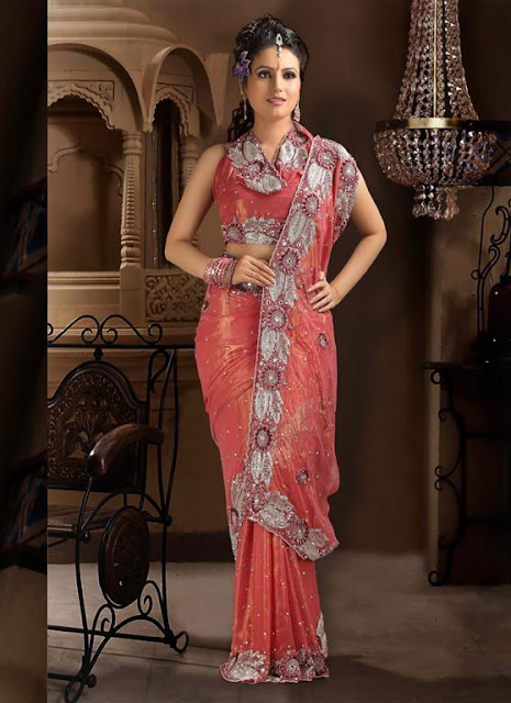Indian Bridal Wedding Saree Designs