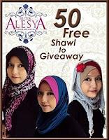 Butik Alesya: 50 Free Shawl To Giveaway