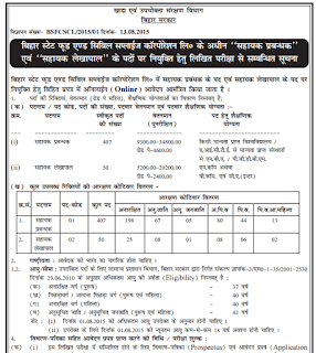 Bihar State Food and Civil Supply Corporation Limited, BSFCSCL Recruitment 2015, government job Notification, bsfcscl.bceceboard.com , sarkari naukriin bihar