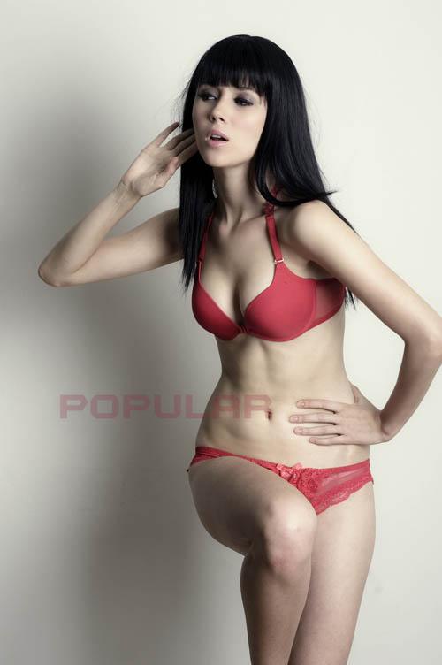 Maria Model Cantik Majalah Popular