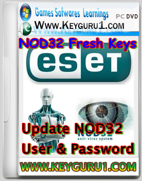 2013: Latest Fresh NOD32 Keys Serial or User Password Update Sep 2013
