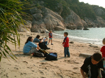 Beach at Cheung Chau