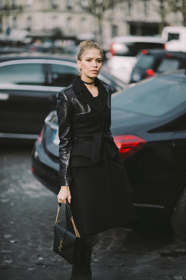 Fashion Week Paris Street Style - Cool Chic Style Fashion