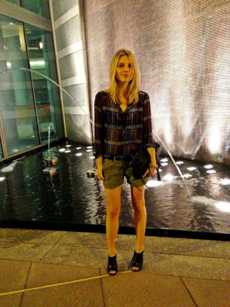 Outfit H&M Levis Whistles Bottega Veneta